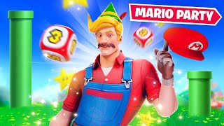 Mario Party Minigames In Fortnite!