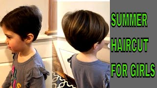 SUMMER SPECIAL HAIR CUT FOR GIRLS 😍😍👌😍😎