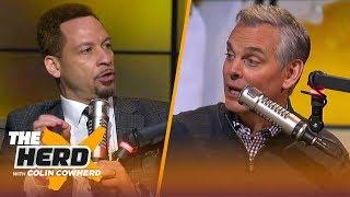 Chris Broussard: Bucks 'have to go through growing pains,' talks KD & Kawhi FA   NBA   THE HERD