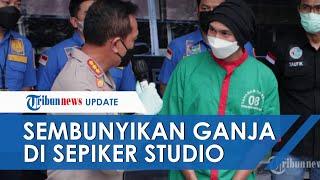 Anji Manji Sembunyikan Ganja di Sepiker Studio, Polisi Sita 30 Gram Narkoba di 2 Tempat