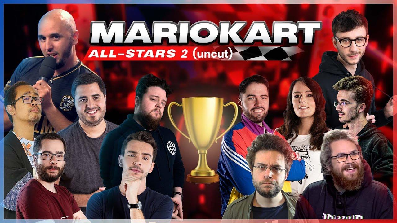 TEAM JIJI vs TEAM PONCE : Qui gagnera cette nouvelle édition ? 🏆   MARIOKART ALL STARS 2