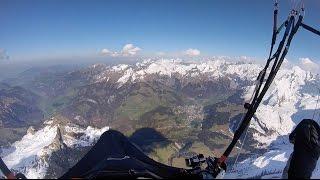 Haldigrat XC Paragliding, 120km