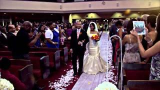 Bridal Entrance - Brandon and Christi