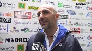 Le dichiarazioni del mister neroverde Roberto Taurino nel dopo gara tra Bitonto e Cerignola