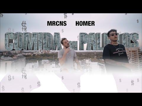 Marcianos Crew x Homer el Mero Mero - COMIDA CON PALILLOS