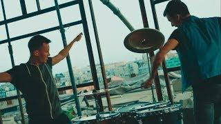 Барабанный дуэт Rooftop презентует новое видео!