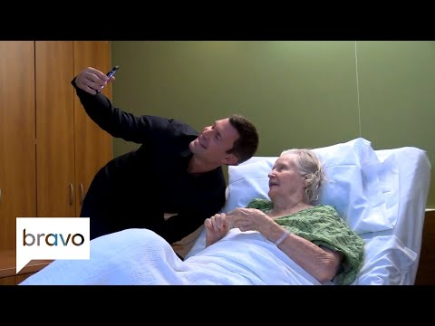 Flipping Out: Monroe FaceTimes With Jeff's Grandmother (Season 11, Episode 5)   Bravo