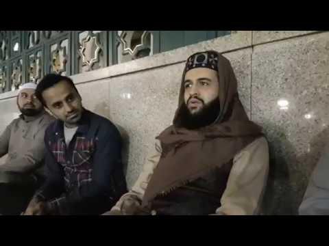 Waseem Badami In Madina Shareef