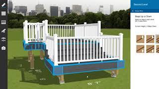 Design Your Deck Using Lowes Virtual Deck Designer Software