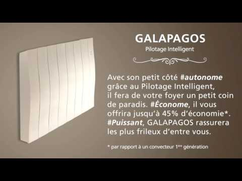 Radiateur Galapagos Pilotage intelligent- ATLANTIC