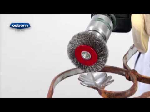 OSBORN - Cepillos circulares alambre ondulado - vástago 6mm