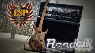 Randall RM100M Amp, George Lynch Mr. Scary MTS Module sounds - low volume