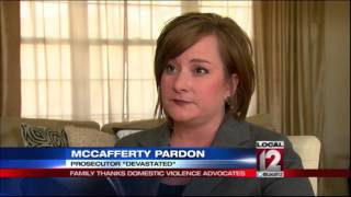 Reaction mixed to McCafferty pardon