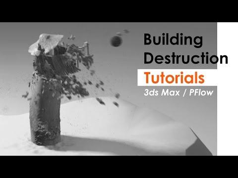 3ds Max – Building Destruction VFx Tutorials (Introduction)