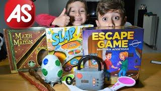 Νέα επιτραπέζια παιχνίδια! Escape Game - Slap | AS TOYS| Geo Kids