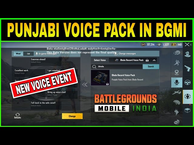 sddefault PUBG Mobile 1.5 update to feature Punjabi voice pack according to beta version