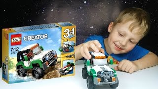 Внедорожник Lego Creator 31037 Adventure Vehicles Lego Speed Build