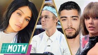 WHY Kylie Jenner Got Lip Fillers, Zayn Malik DEFENDS Taylor Swift, Bieber Leads Hand-in-Hand -MOTW