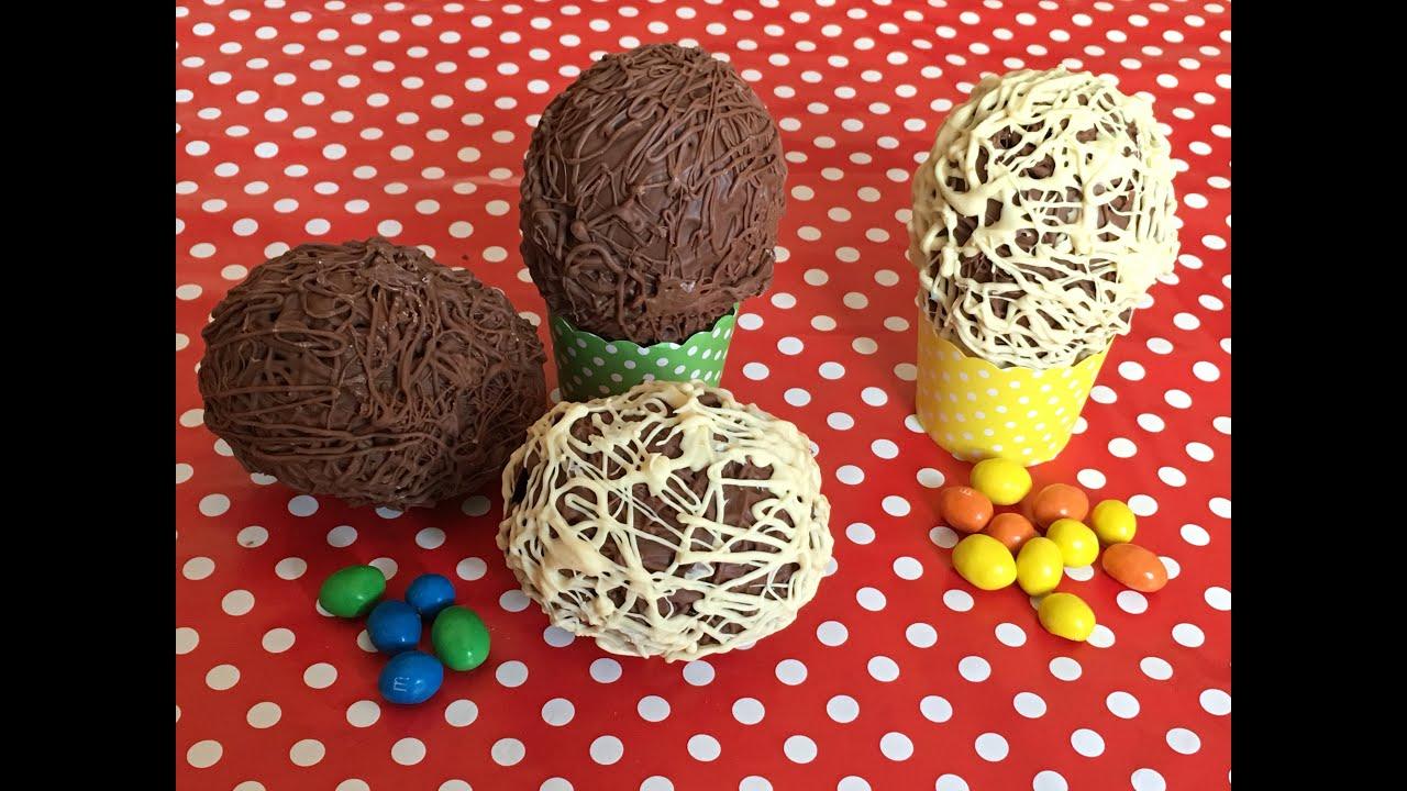 Cómo hacer huevos de chocolate para chuparse los dedos.
