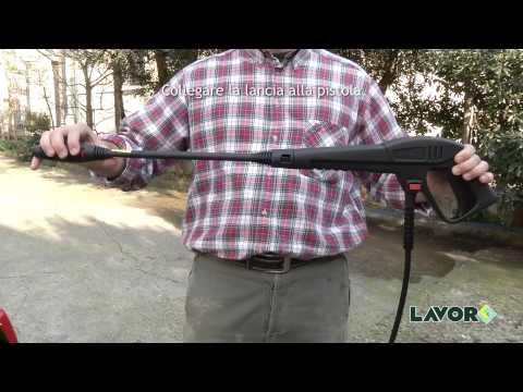 Le cose da fare prima di utilizzare la tua idropulitrice LAVOR