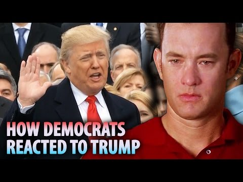 How Democrats Reacted To President Trump's Inauguration