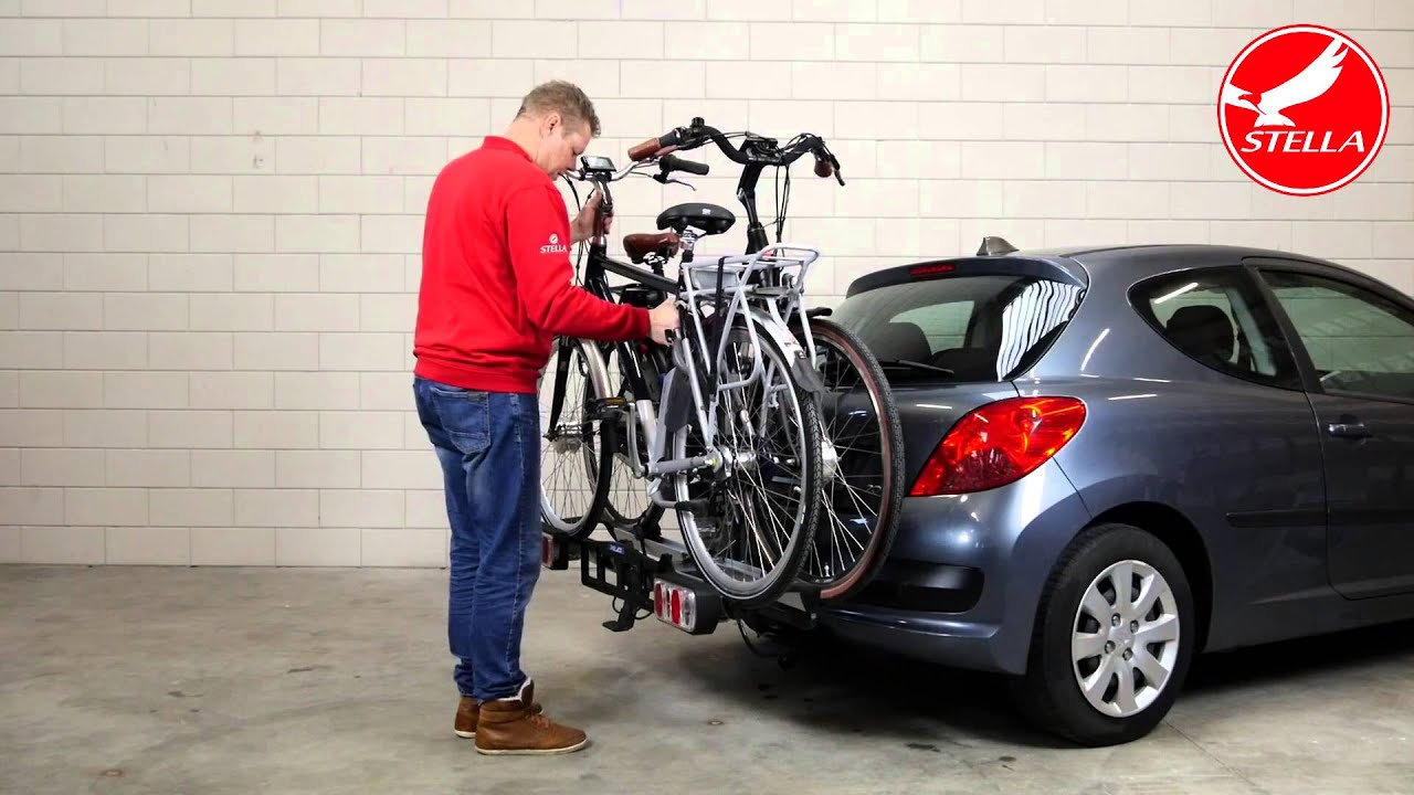 Fietsendrager monteren elektrische fiets