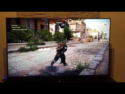 Samsung MU8002T  Assasin Creed Origins PS4