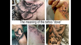 The Meaning Of The Tattoo Dove   Facts About Drawing And Photo Examples For The Site Tattoovalue.net