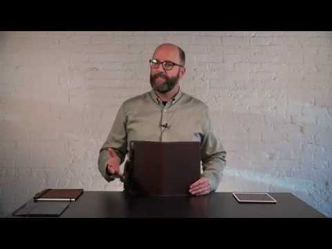 Oxford Leather iPad Pro 10.5 Case Video
