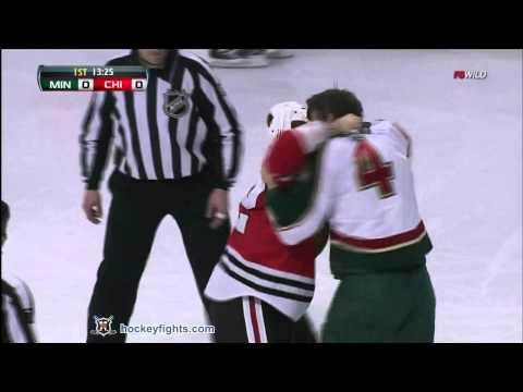 Clayton Stoner vs Brandon Bollig
