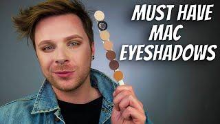 BEST MAC EYESHADOWS   Best MAC Eyeshadows For GREEN Eyes   MAC Eyeshadows 2020