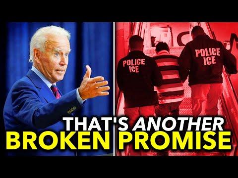 Joe Biden Abandons Promise to Halt Deportations