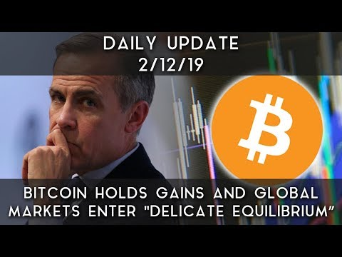 "Daily Update (2/12/19) | Bitcoin holds gains & global markets enter ""delicate equilibrium"""
