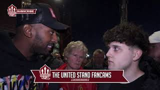We Need To Keep This Midfield Three  | Fan Cam | Man Utd 2 - Leicester 1|