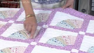 Grandmothers Fan And Dresden Plate Blocks With Valerie Nesbitt (taster Video)