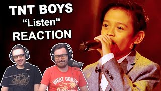 "Singers FIRST TIME Reaction/Review to ""TNT Boys - Listen"""