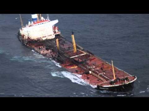 Prestige Oil Spill Disaster Master Project