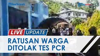 Ratusan Warga Jayapura Ditolak Tes PCR di RS, Terpaksa Antre hingga Mengular di Labkesda Papua