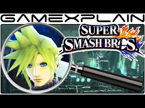Super Smash Bros. Analysis - Cloud Reveal Trailer (Secrets & Hidden Details)