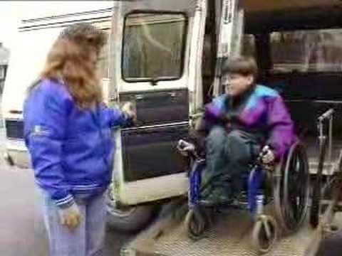 Screenshot of video: Spina Bifida short film