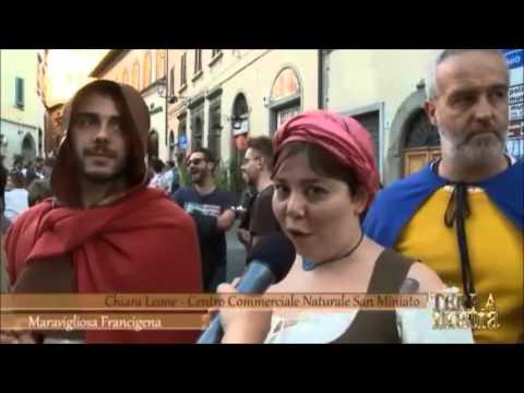 """Preview video Servizio di """"Terra Nostra"""" su """"Maravigliosa Francigena""""!"""