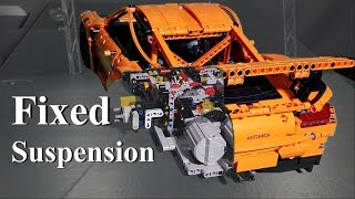 Fixed Suspension Lego Technic Porsche 911 GT3 RS 42056 MOD # 4  4K