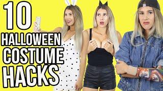 10 Halloween Costume HACKS