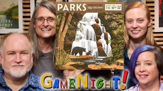 Parks - GameNight! Se7 Ep41 - How to Play and Playthrough