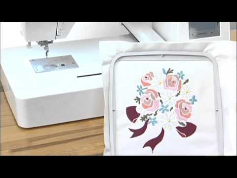 Відео про вишивальну машину JANOME MC500E