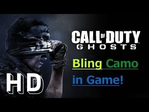 BLING CAMO GAMEPLAY CoD Ghosts