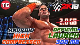 wwe 2k18 ppsspp download for android