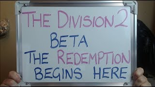 THE DIVISION 2: The Road To REDEMPTION Starts HERE!!