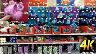 christmas at walmart entire ornament section christmas ornaments christmas shopping decorations - Dollar General Christmas Decorations