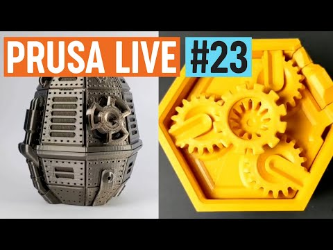 Clockspring 3D and new features on PrusaPrinters.org - PRUSA LIVE #23